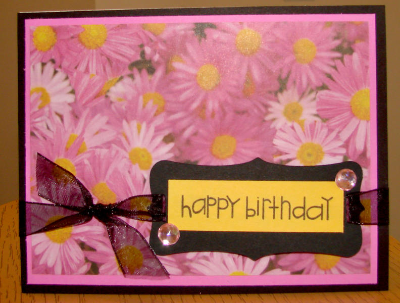 happy birthday Card sent to Operation Write Home