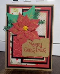 Poinsettia Card 2