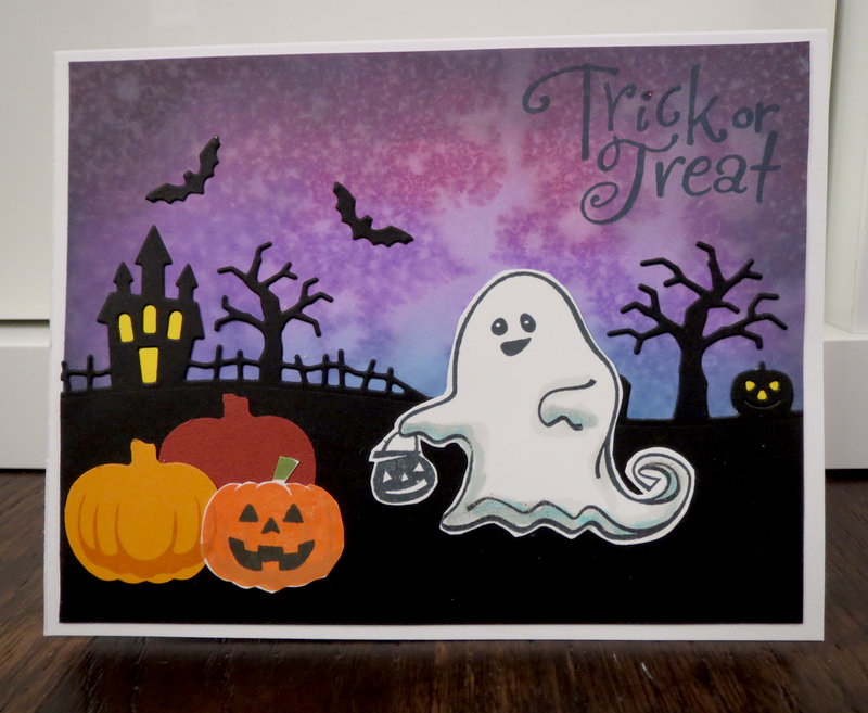 Ghost Card for Baby Vera