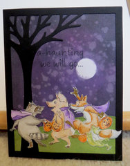 Halloween Card - Critters 1