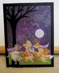 Halloween Card  - Critters 2