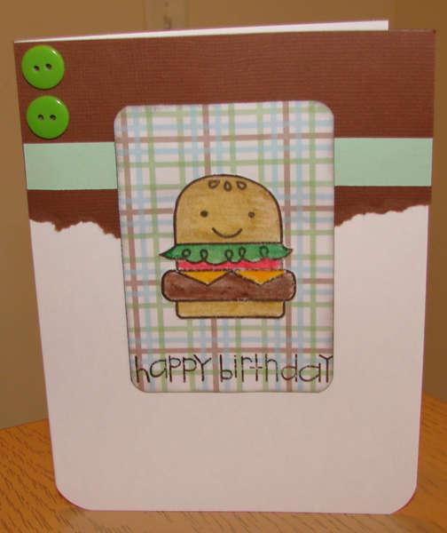 Hamburger Birthday for Operation Write Home