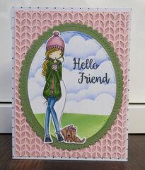 Hello Friend Card 1