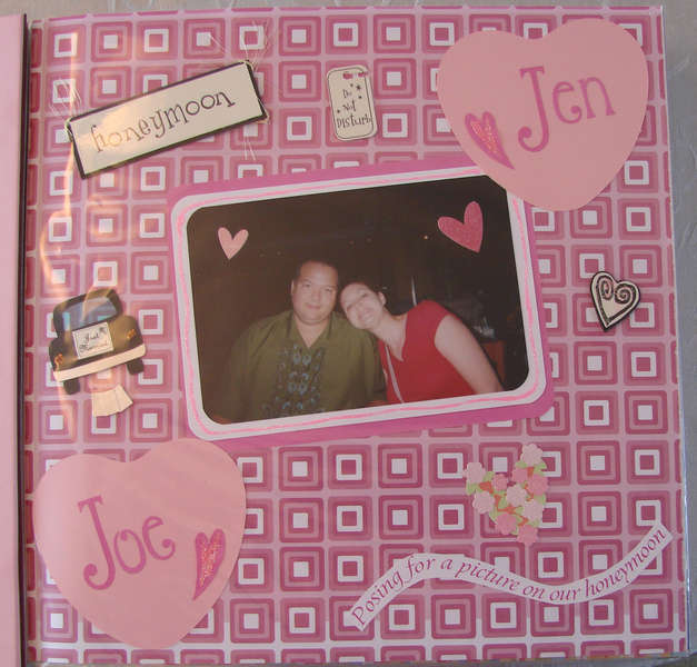Joe and Jen on our Honeymoon