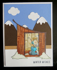 Ice Fishing card