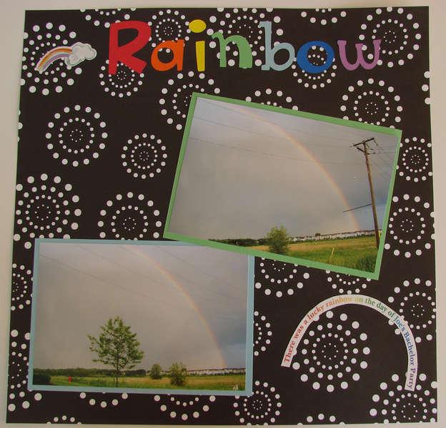 Joe's Bachelor Party Rainbow