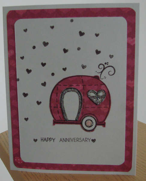Anniversary card for Friends