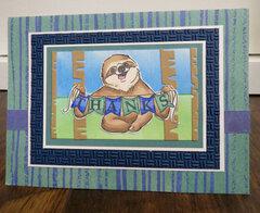 Sloth Thank You 1