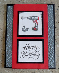 Drill Birthday Card