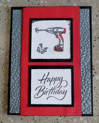 Drill Birthday Card