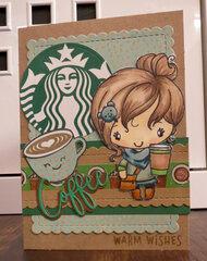Get Well Coffee card