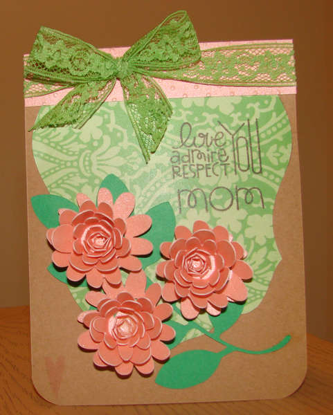 Mother's Day Card for MOM with Bow