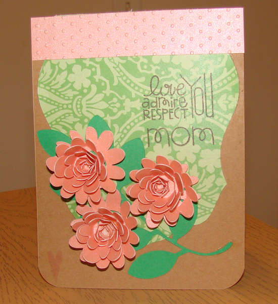 Mother's Day Card for MOM without bow