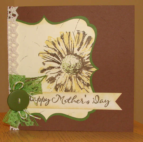 Mother's Day card for mom from Brother