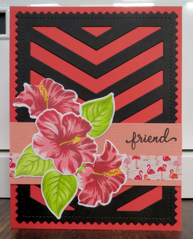 Red Friend Mother's Day card - Tammy