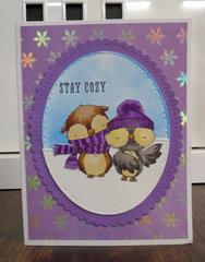 Owl card 2