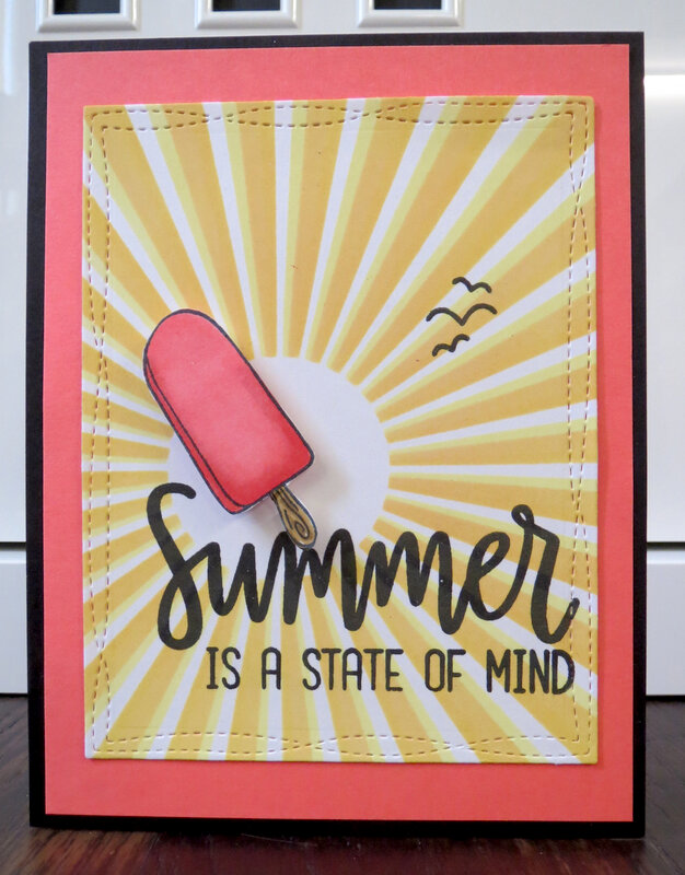 Popsicle Summer Card