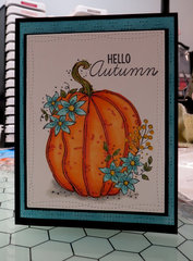 Teal Pumpkin Card