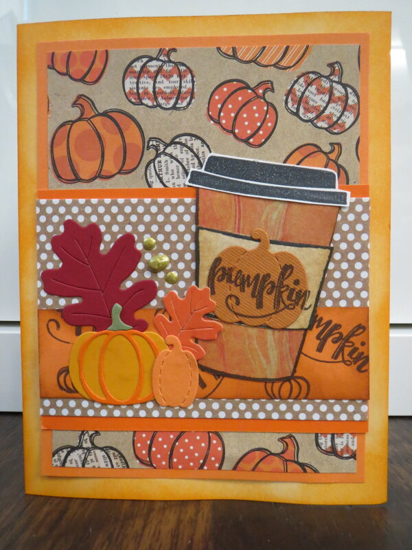 Pumpkin Spice card 3