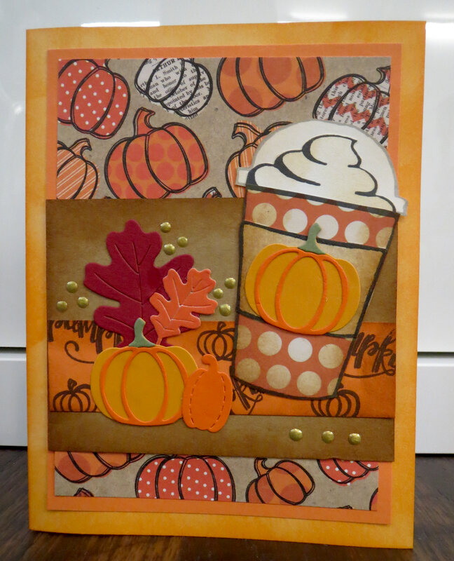 Pumpkin Spice card 2
