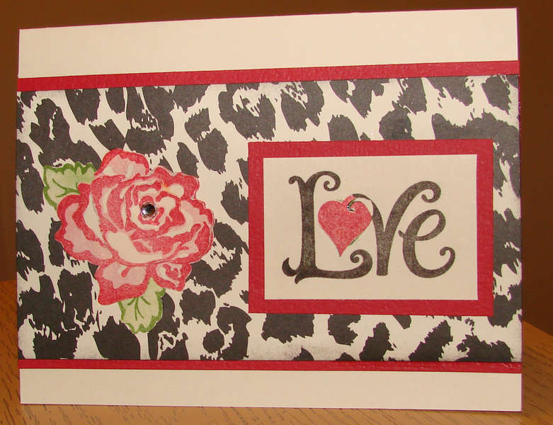 Valentine Rose Card 2