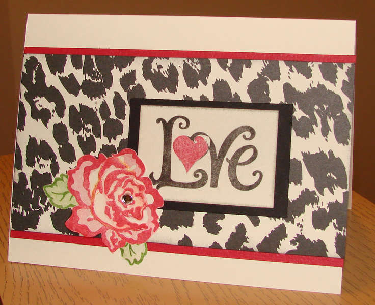 Valentine Rose Card 1