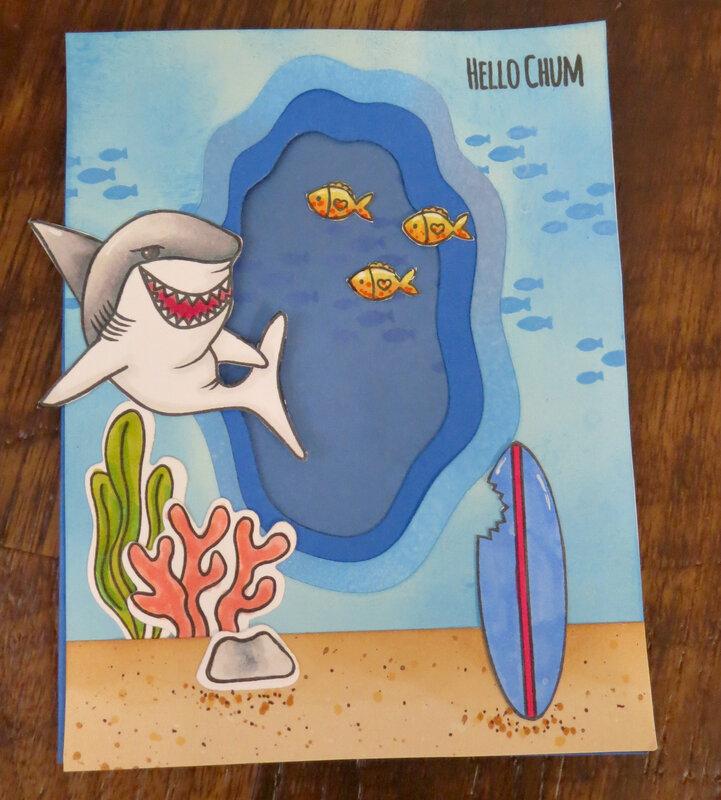 Shark Week Card 1