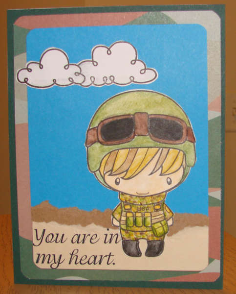 Soldier card 2 for Operation Write Home