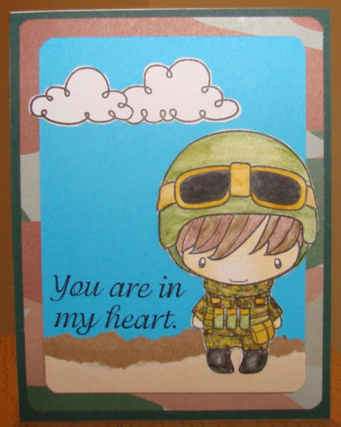 Soldier Card for Operation Write Home