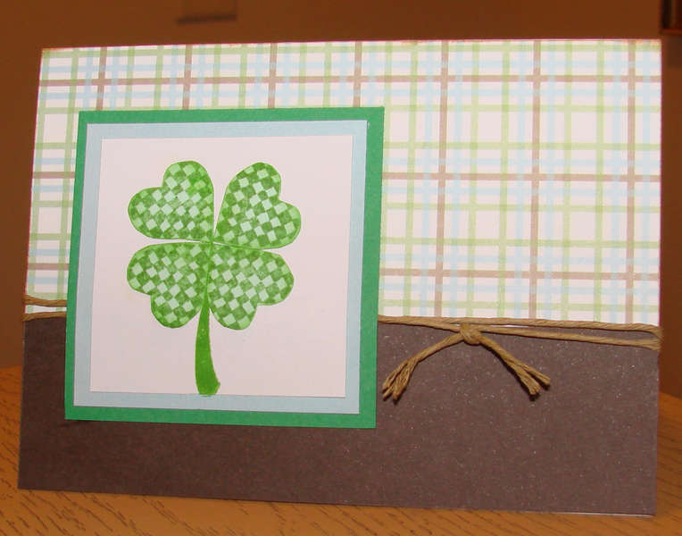St. Patrick's Day Card 4