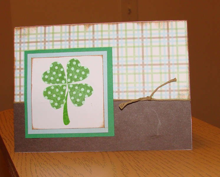 St. Patrick's Day Card 1