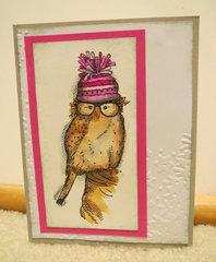 Owl Pink ThankYou