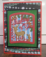 Christmas Thinking of You card