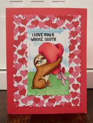Sloth Valentine