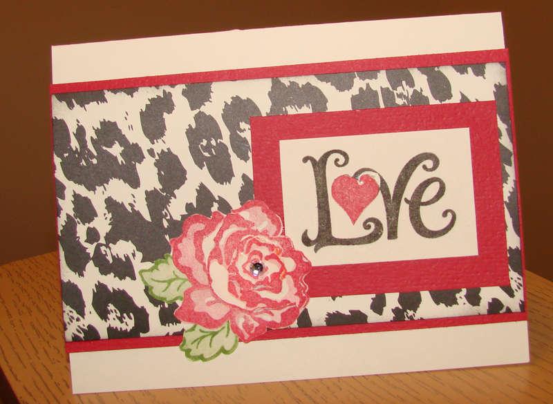 Valentine with rose 3