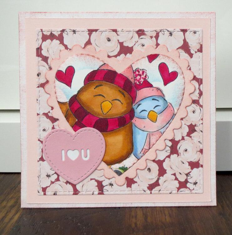 Birdy Heart Valentine