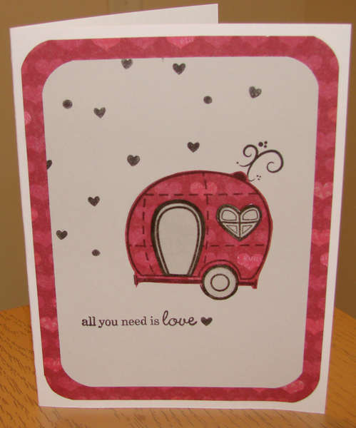 All you need is love card for Operation Write Home