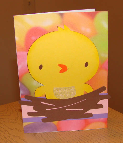 Easter card for Twins