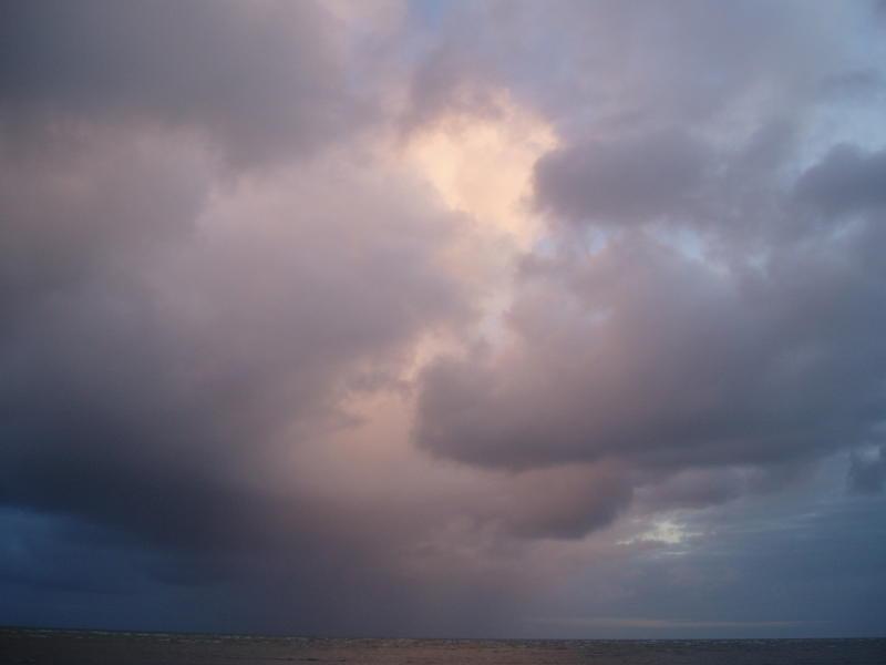 bit cloudy