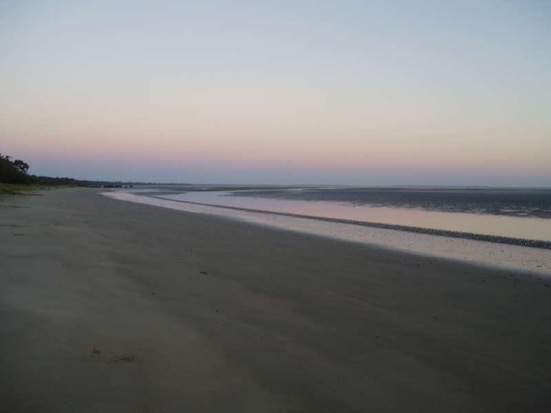 6am on the beach