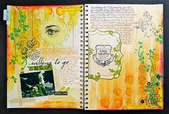 My 1st art journal entry