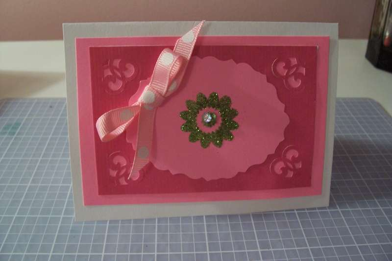 small sentiment card