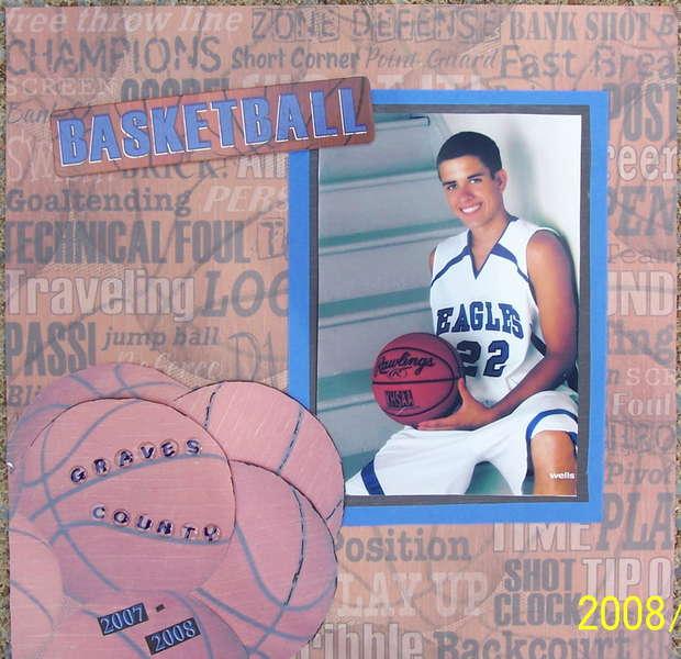 Senior year basketball