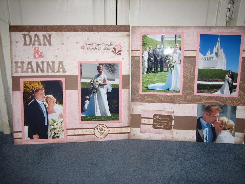 dan gets married