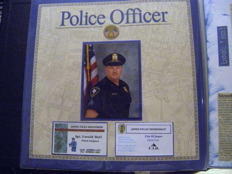 Police Officer, pg 1