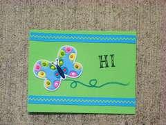 HI Blue Butterfly