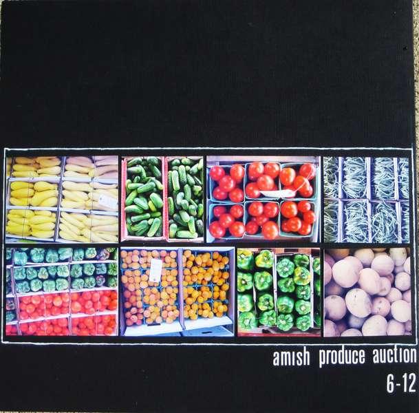 amish produce auction