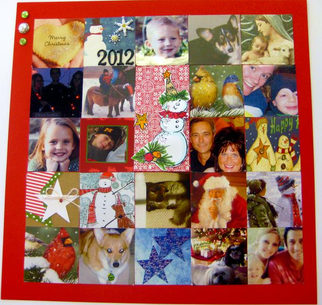 2012 Annual Christmas Card collage