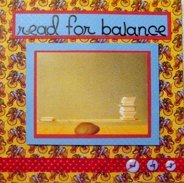Read for Balance