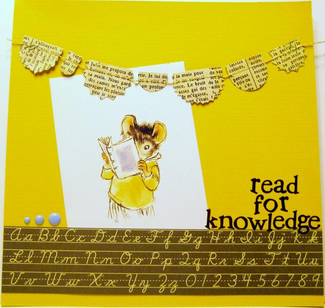 Read for knowledge